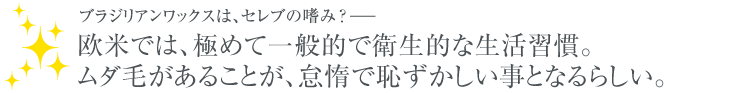 ブラジリアンワックスについて 優良サロン 検索 ブラジリアンワックス ワックス脱毛 Waxing-Japan.com